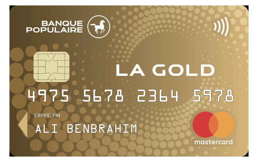 carte gold banque populaire Pages   LA GOLD